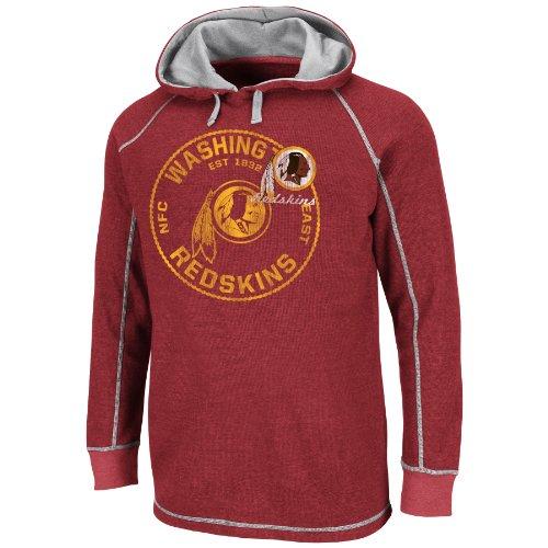 Washington Redskins Majestic NFL Spotlight II Lightweight Thermal Sweatshirt camicia