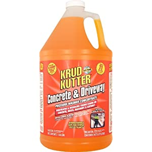 Krud kutter dg01 orange pressure washer for Commercial concrete cleaner