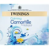 Twinings A Moment Of Calm Pure Camomile Tea Bags 120 g, 80 Tea Bags, (pack of 4, 320 teabags in total)