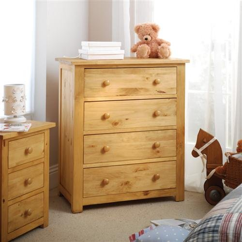 Oxbury Pine Chest 4 Drawer