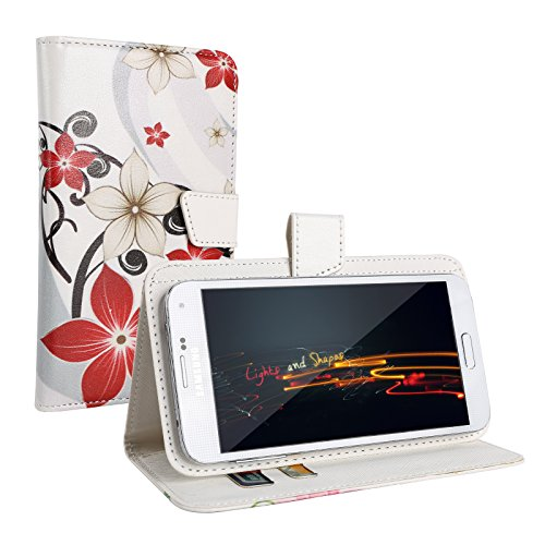 """Schutz-hülle Tasche Case Cover für 4,0"""" - 4,5"""" Zoll Handy Smart Phone, kompatibel mit Samsung Galaxy S4 I9505, Samsung GALAXY S3 i9300, Samsung Galaxy G3500, NOKIA LUMIA 625, Nokia Lumia 720, Nokia Lumia Icon, SONY ERICSSON XPERIA T LT30P, LG OPTIMUS TRUE HD LTE P936, LG E975 Optimus G, LG PRADA PHONE P940, HTC Evo 3d Smartphone, ARCHOS 45 Helium 4G, ARCHOS 45 Titanium, CUBOT GT72 Smartphone, CUBOT ONE 4.7"""" IPS 720P HD 3G Smartphone, ZTE Blade G (11,4 cm) 4,5 Zoll"""