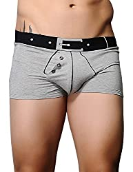 Xuba Men's Cotton Trunk(XB1411207003_Grey_L)