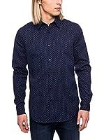 Cerruti Camisa Hombre CMM5224050 C1038 (Azul Marino)