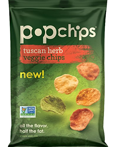 Popchips Veggie Chips, Tuscan Herb, 3 Ounce (Pop Chips Tomato compare prices)