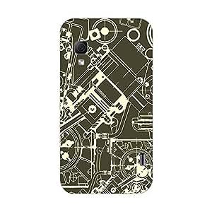 Garmor Designer Plastic Back Cover For LG Optimus L5 II Dual E455