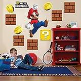 Party Destination 159151 Super Mario Bros. Giant Wall Decals
