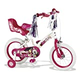 KidCool Serena Girls Bike - White/Pink, 14-Inchby Kidcool