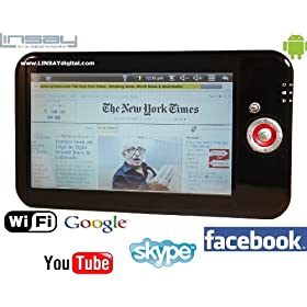 LINSAY TABLET A-1A Wi-Fi with Android New