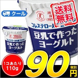ソヤファーム 豆乳で作ったヨーグルトプレーン 110g×12コ×2 2ケース48個入