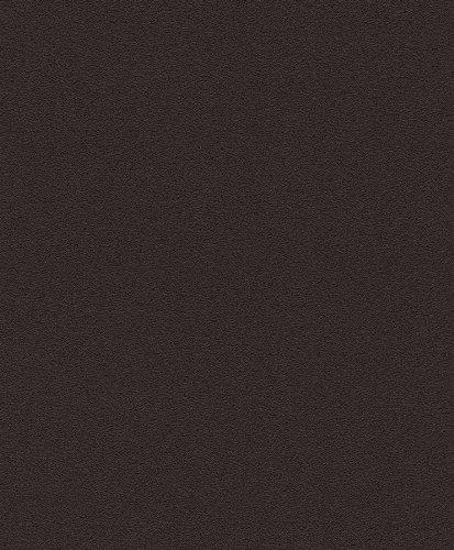 rasch-prego-vliestapete-740271-uni-schwarz