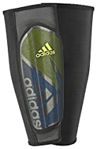 adidas Performance Ghost Pro Shin Guard, Shock Blue/Semi Solar Slime/Shock Mint, X-Small