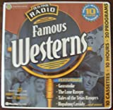 Old-Time Radio Famous Westerns with Booklet (10-Hour Collections)