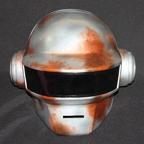 Halloween Costume Daft Punk Helmet Thomas Bangalter Mask + GLOVE steampunk MA175