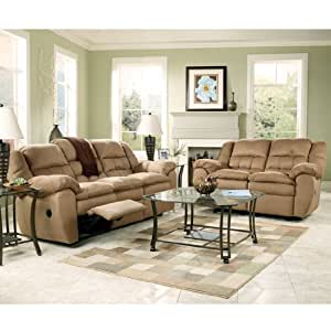 cooper cocoa reclining living room set by