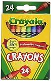 Crayola Crayons 24 Count - 2 Packs 52-0024-2 5200242, crayon great school