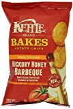 Kettle Bakes Potato Chips, Hickory Honey Barbecue, 4-Ounce Bags (Pack of 15)