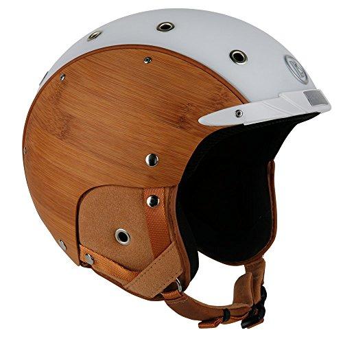 bogner-casco-da-sci-bamboo-white-taglia-m-circonferenza-testa-54-58-cm