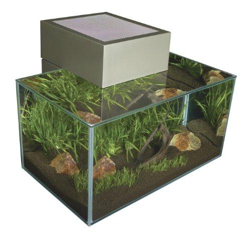 Fluval Edge Aquarium Set, Pewter, 6-Gallon