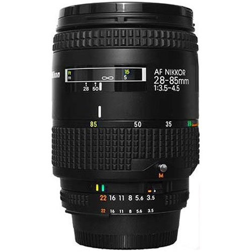 Nikon 28-85/3.5-4.5 Af Zoom-Nikkor Wide Angle To Telephoto Nikon Camera Lens
