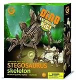 Geoworld 23210315 - Stegosaurus Azsgrabungsset circa 28 cm hergestellt von Geoworld