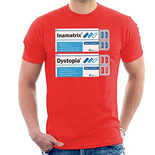 Red Or Blue Matrix Pills Men's T-Shirt