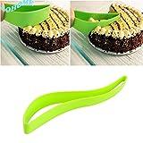 LOHOME(TM) Home Kitchen Cake Pie Slicer Sheet Guide Cutter Server Bread Slice Knife Kitchen Gadget (1 pcs)