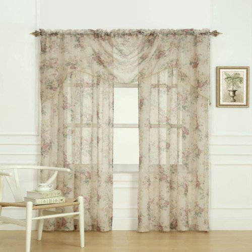 Laura Ashley Stowe Window Treatment Panel