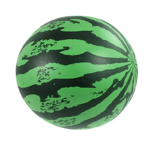 "uxcell® Children Beach Summer Party Inflatable PVC Watermelon Ball Toy 6.7"" - 1"