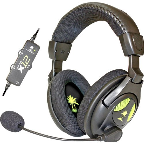New Ear Force X12 Gaming Headset For Xbox 360 And Pc (Headphones)