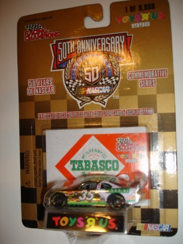 racing-champions-164-35-tabasco-50th-anniversary-nascar-stock-car-by-racing-champions