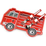 KidsFunwares Me Time Dinnerware Set (Fire Engine)
