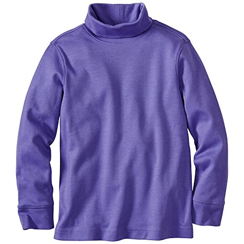 Hanna Andersson Baby Organic Cotton Turtleneck, Size 80 (18-24 Months), Pretty Purple front-1054577