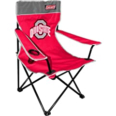 Buy NCAA Ohio State Buckeyes Coleman Folding Chair With Carrying Case by Coleman