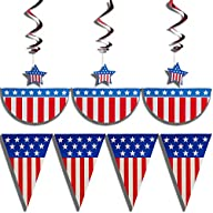 4th of July patriotic decorations par…
