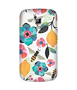 Watercolour Honey Bee Back Cover Case for Samsung Galaxy S Duos S7562