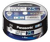 Panasonic ブルーレイディスク 日本製 録画用4倍速 25GB(単層 追記型) 30枚パック LM-BRS25LT30
