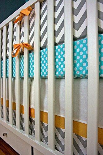 Modified Tot Crib Bedding, Sweet Mango