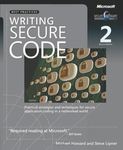 Writing Secure Code, Second Edition