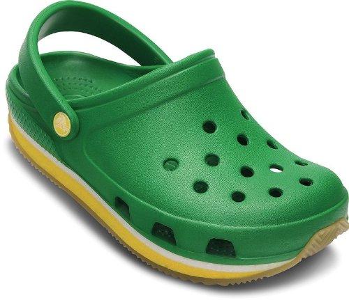 CROCS Kids - RETRO CLOG - kelly green yellow