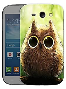 """Humor Gang Cute Owl Eyes Printed Designer Mobile Back Cover For """"Samsung Galaxy j1"""" (3D, Matte, Premium Quality Snap On Case)"""