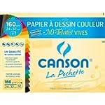 Canson - 526016 - Pochette de 12 feui...