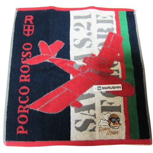 Ghibli red pig hand towel