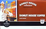 Donut House Light Roast 80 Coffee K-Cups for Keurig K-Cup Brewers (pack of 1)