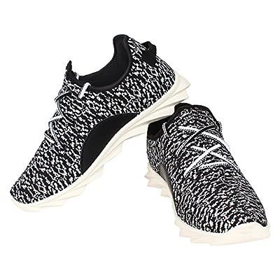 Bersache Men/Boys Black-480 Sport Shoes (Running Shoes)
