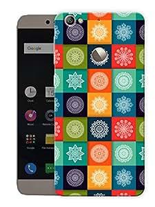 "Humor Gang Mandala Art Printed Designer Mobile Back Cover For ""Letv Le 1S"" (3D, Matte, Premium Quality Snap On Case)"