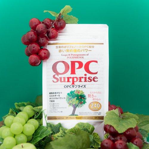 OPCサプライズ 240粒入り むくみや生理痛にお悩みの方にopcポリフェノールを