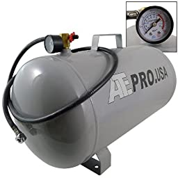 9 Gallon Compressed Air Tank 125PSI Tire Sport Equipment Mattresses Universal