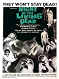 Night of the Living Dead Movie Poster Art Print 40x30cm (MSP0005)