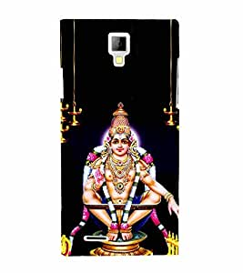 Sabarimala Ayyappa 3D Hard Polycarbonate Designer Back Case Cover for Micromax Canvas Xpress A99