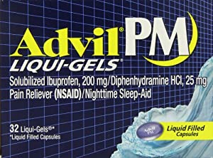 Advil PM Liqui-Gels, 32-Count Box